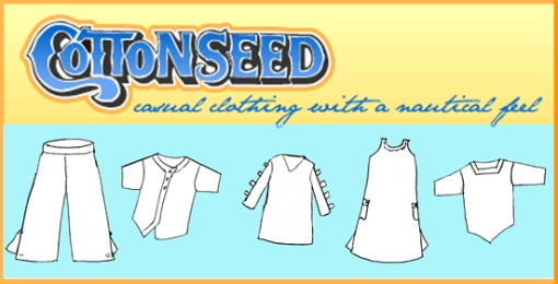 Cotton seed logo-clothes