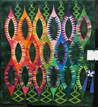 1st place ribbon SCQC Show